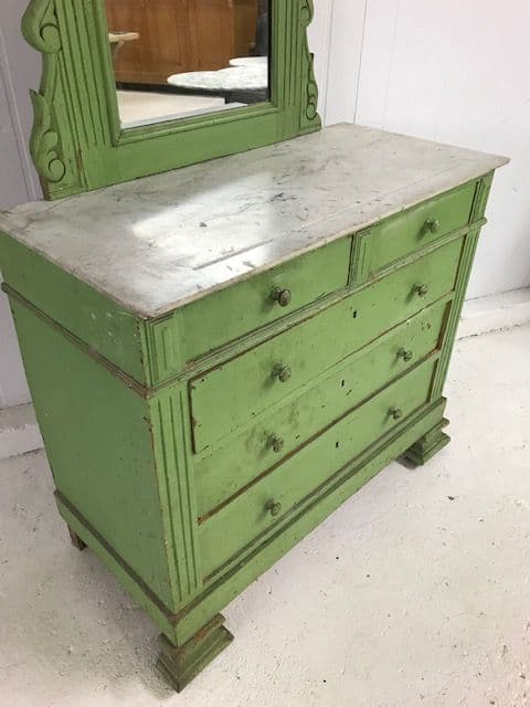 sold - French Dressing Chest  - b52